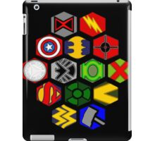 Marvel DC Comic Superhero Crossover Megaverse iPad Case/Skin
