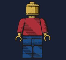 Lego Man Patent - Colour (v1) Kids Clothes