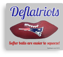 New England Deflatriots Metal Print