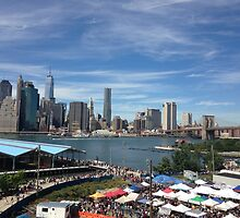 NYC as Seen From Brooklyn by downtowndesigns