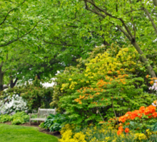 Philadelphia's Azalea Garden - Pennsylvania - USA Sticker