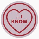Geeky Love Hearts - …I Know by SevenHundred