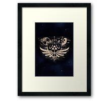 Majora's Mask Dark Night Framed Print
