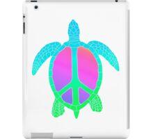 Rainbow Peace Turtle iPad Case/Skin