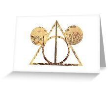 Mickey's Deathly Hallows Greeting Card