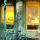 CAFE IN BERLIN by ANNETTE HAGGER