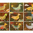 Land of Whimsical Birds by Ujean1974