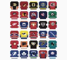 8-Bit Hockey Jerseys 2 by AlCreed