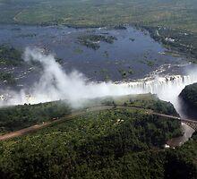 Victoria Falls  by aidan  moran
