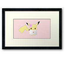 Valentine from Pikachu Framed Print