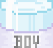 Boy Tears Sticker