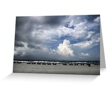Beach Skies Greeting Card