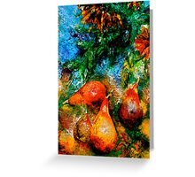 Still Life with Sunflowers Greeting Card