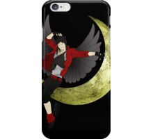moon fly iPhone Case/Skin