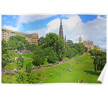 East Princes Street Gardens II Poster