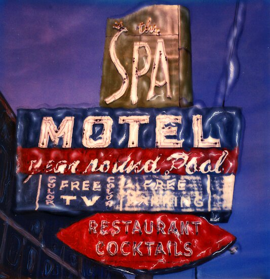 Spa Motel by Steven Godfrey