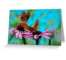 BFF Best Friend Fritillaries  Greeting Card