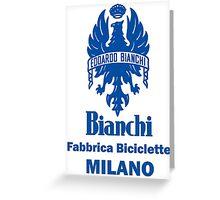 BIANCHI Greeting Card
