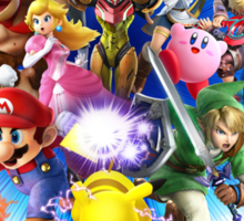Super Smash Bros. for Wii U [Full Art] Sticker