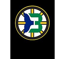 Boston Whalers - Hartford Bruins Photographic Print