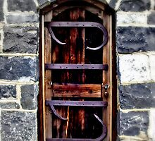 Doorway at Montsalvat by spinwych