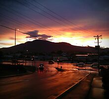 Hobart Sunset by RevellutioN