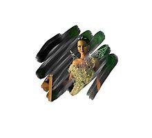 Katniss Everdeen Scribble Photographic Print