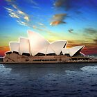 Sydney Opera House dark by lana3210