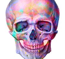 Space Skull  by cabbaclothing