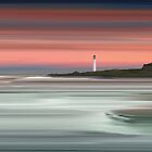 Barns Ness Lighthouse by bluefinart