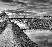 Cat Gallows Bridge by John Edwards