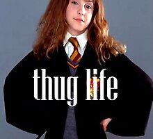 Hermione Granger Thug Life by Jimbob97