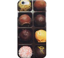 Chocolate Truffles Photo iPhone Case/Skin