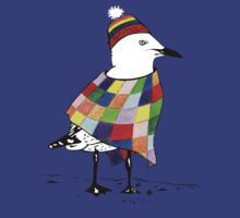 Chilli the Seagull T-shirt by Jacqueline Eden