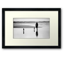 'Together' - Inverloch, Victoria, Australia 2008 Framed Print