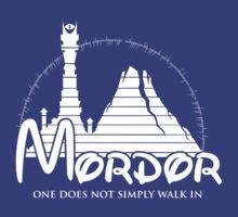 Disney Mordor by wintertale