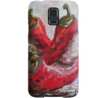 Poppin' Peppers Samsung Galaxy Case/Skin