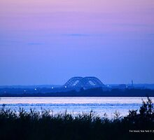 The Fire Island Inlet Bridge | Fire Island, New York by © Sophie W. Smith