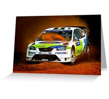 FORD - Dust Eater Greeting Card