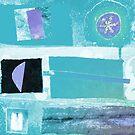 Grey Blue Lafayette by Jenny Davis