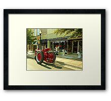 Just Pickin' up a Few Things Framed Print