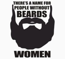 woman beard by indigostore