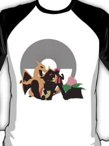 Pokemon Trainer Altogether (Pokemon) - Sunset Shores T-Shirt