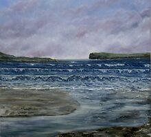 Kilkee Beach, County Clare by Avril Brand