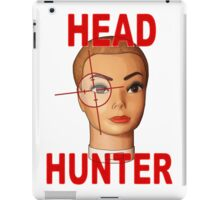 head hunter iPad Case/Skin