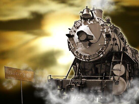 Midnight Train to Georgia by Samantha Dean