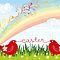Easter Chicks &amp; Rainbow by fatfatin