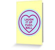 Geeky Love Hearts - Fuzzball Greeting Card