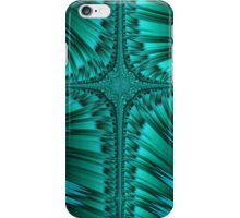 Green Cross Abstract iPhone Case/Skin