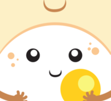 Hug the Egg Sticker